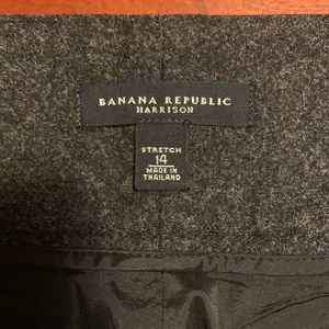 Banana Republic Harrison Wool Pants, 14